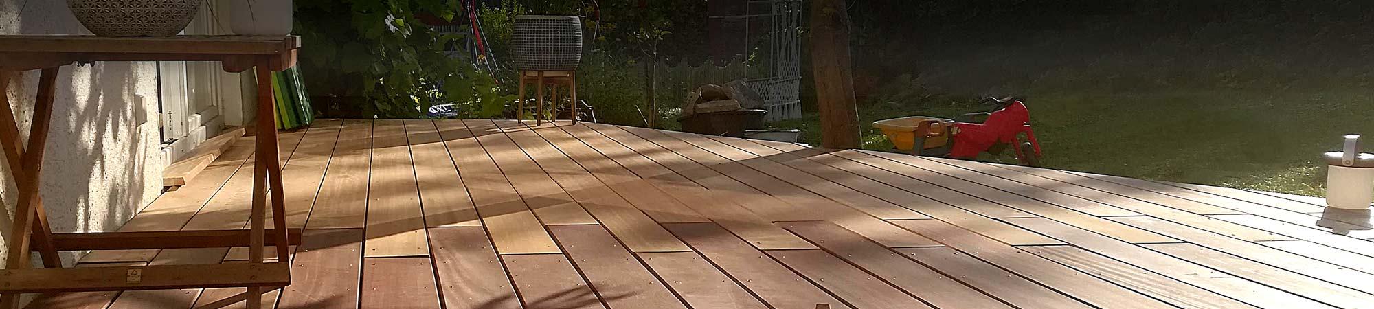 Holzterrassen | Vor- und Nachteile