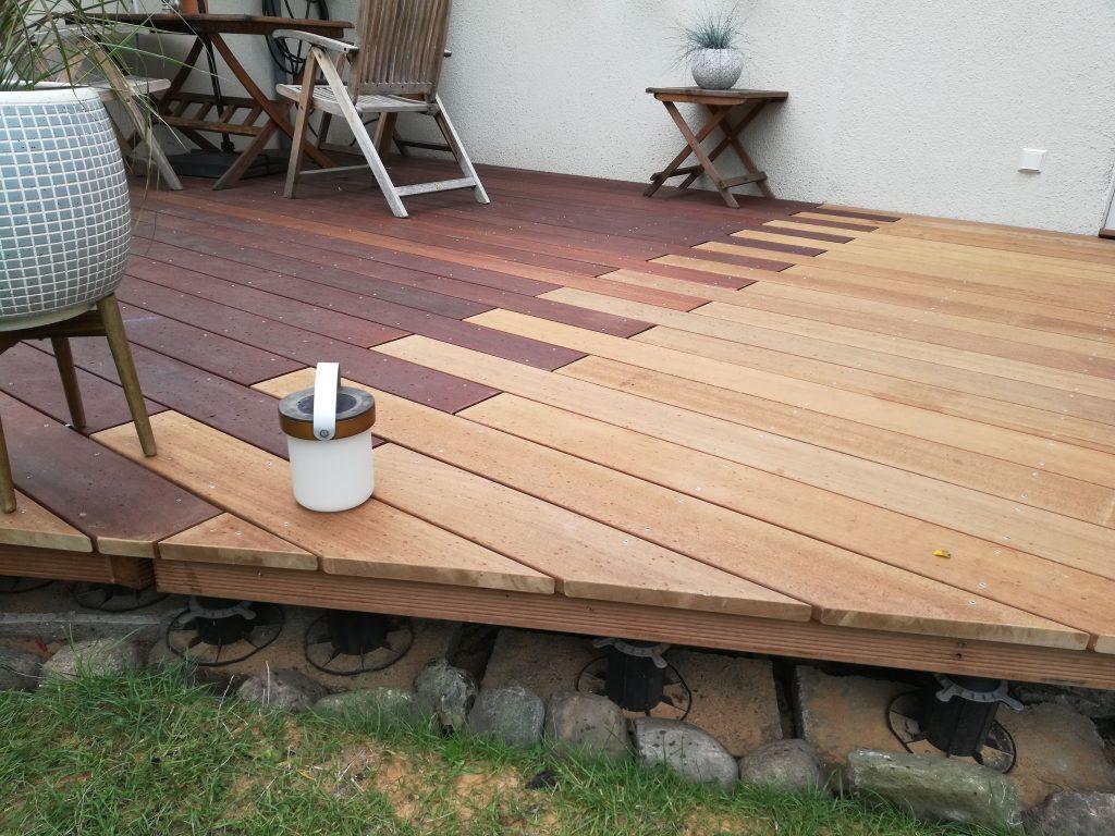 Vor-und Nachteile von Holzterrassen